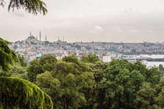 Mosques in Istanbul Stock Image