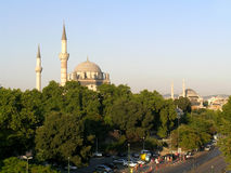 Mosques in Istanbul, Turkey Stock Images