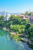 Mosques and minarets, Mostar Royalty Free Stock Photos
