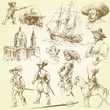 Mosqueteros libre illustration