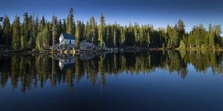 Mosquito湖,加利福尼亚 图库摄影