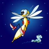 Mosquito alegre Imagen de archivo libre de regalías