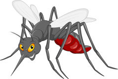 Mosquito cartoon. Vector illustration of mosquito cartoon stock illustration