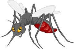 Mosquito cartoon stock illustration