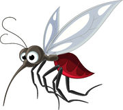 Mosquito cartoon for you design Stock Photos
