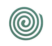 Mosquito coil Royalty Free Stock Images