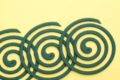 Mosquito coil Royalty Free Stock Photo