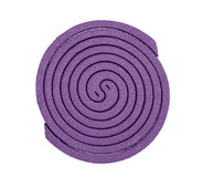 Mosquito coil isolated Royalty Free Stock Photo