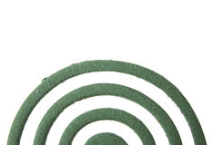 Mosquito coil isolated on white Stock Photography