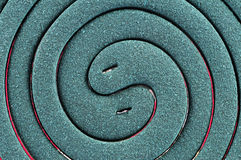 Mosquito coil macro Stock Photography