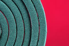 Mosquito coil macro Royalty Free Stock Images