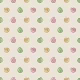 Mosquito coil summer seamless pattern. Summer background image Royalty Free Stock Photos