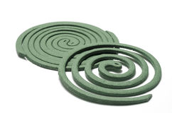 Mosquito coil Stock Images
