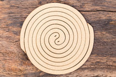 Mosquito coil Stock Image