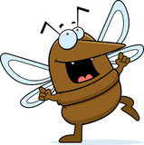 Mosquito Dancing Royalty Free Stock Photo
