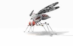 Mosquito do Cyber Fotos de Stock Royalty Free