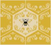 Mosquito dourado Imagens de Stock Royalty Free