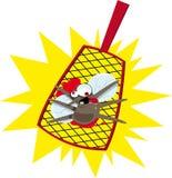 Mosquito engraçado ilustração stock
