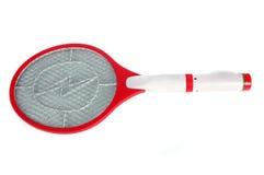 Mosquito killer racket. On white background Royalty Free Stock Photo