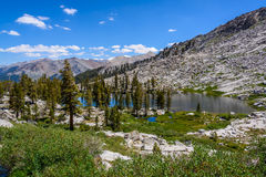 Mosquito Lakes, Sequoia National Park Royalty Free Stock Photos