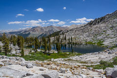 Mosquito Lakes, Sequoia National Park Stock Image