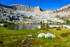 Mosquito Lakes, Sequoia National Park Royalty Free Stock Photography