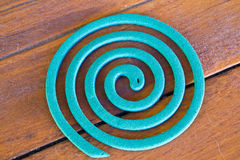 The mosquito repellent coil Royalty Free Stock Images