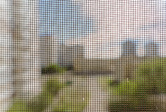 Mosquito Screen on a Window royalty free stock image