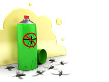 Mosquito spray Royalty Free Stock Photography