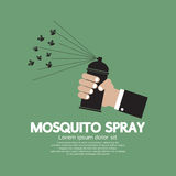 Mosquito Spray In hand Royalty Free Stock Images