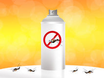 Mosquito spray. Nice illustration of a mosquito Stock Image