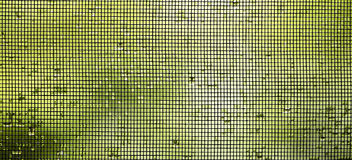 Mosquito wire screen banner Royalty Free Stock Photography