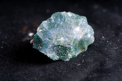 Moss agate crystal. Mineral sample used as a healing stone Stock Photo