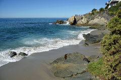 Moss Cove Beach in South Laguna Beach, California. stock image