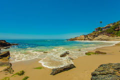 Moss Cove Laguna Beach Royaltyfri Fotografi