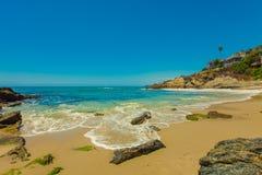 Moss Cove, Laguna Beach. Laguna Beach, California The rocks and tidepools of Laguna Beach Stock Image