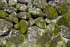 Free Moss Covered Stone Wall Texture Royalty Free Stock Photos - 84602978