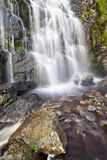 Moss Force. Waterfall in the Lake district Stock Photography