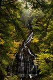Moss Glen Falls - Herbst/Fall färbt - Wasserfall - Vermont stockbilder