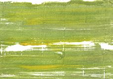 Moss green abstract watercolor background Royalty Free Stock Photo