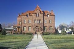 Moss Mansion histórico, facturaciones, TA Foto de archivo libre de regalías
