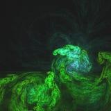 Moss On The Temple des personnes en pierre | Art de fractale photos stock
