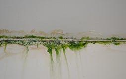 Mossagrunge Arkivbild