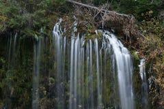 Mossbrae falls in Dunsmuir, California. Stock Images