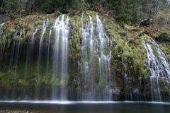 Mossbrae falls in Dunsmuir, California Stock Photo