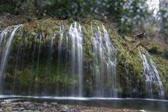 Mossbrae falls in Dunsmuir, California Stock Images