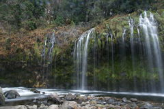 Mossbrae falls in Dunsmuir, California Stock Photography