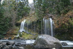 Mossbrae falls in Dunsmuir, California Stock Photos