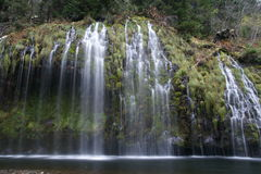 Mossbrae Falls In Dunsmuir, California Stock Photo