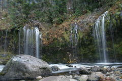 Mossbrae Falls In Dunsmuir, California Royalty Free Stock Photo